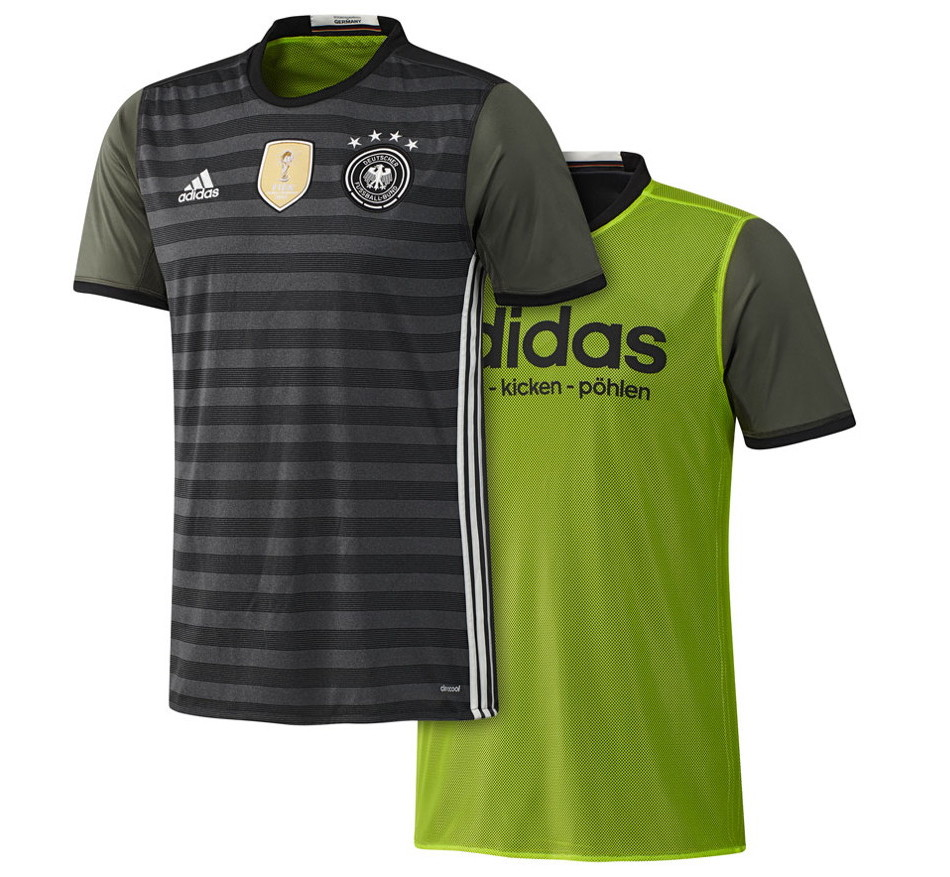 deutschland trikot gr n dfb trikot 2016 ist wieder gr n. Black Bedroom Furniture Sets. Home Design Ideas